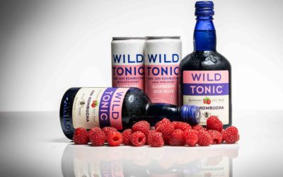 Peace, Love, and Wild Tonic Kombucha